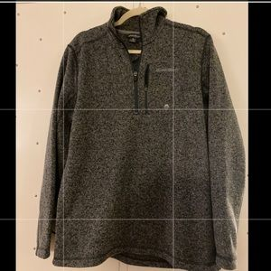 Eddie Bauer Gray Pull over- size M